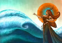 Keyleth-Casts-Tidal-Wave-by-Thomas-Brin