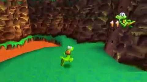 Croc Legend of the Gobbos (PSX) - Mountain World-0