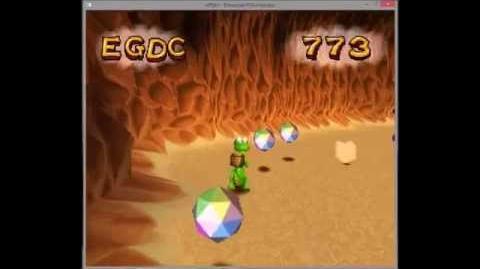Croc legend of the gobbos tech demo gameshark hidden levels-0