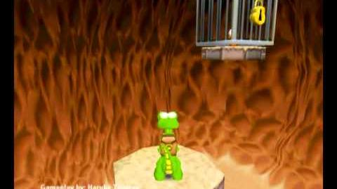 Croc Legend of the Gobbos (PC) - Island 3 Level 2 (Mud Pit Mania)