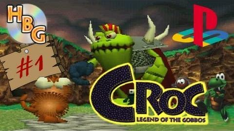 Let's Play Croc 01 And so the Adventure Begins