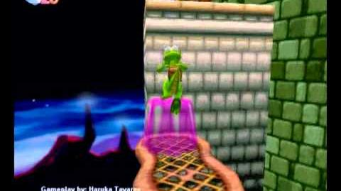 Croc Legend of the Gobbos (PC) - Island 4 Level 1 (The Tower of Power)