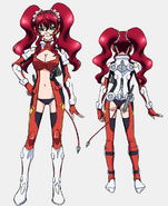 Hilda Uniform Front Back