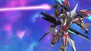 Cross Ange ep 25 Ange's Ragna-mail EM-CBX007 Villkiss Destroyer Mode