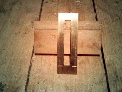 Making nut socket reinforcement - 08