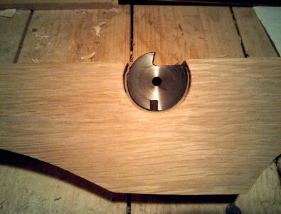 Making nut socket reinforcement - 02