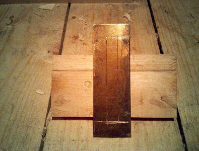 Making nut socket reinforcement - 04