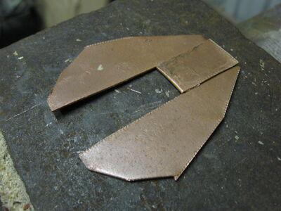 Metal fletching method 1-07