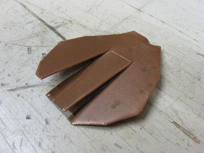Metal fletching method 1-03