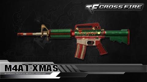 CrossFire Vietnam M4A1-Xmas ☆