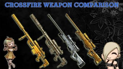 CrossFire Vietnam - M200 Cheytac-Ultimate Gold -Comparison-!