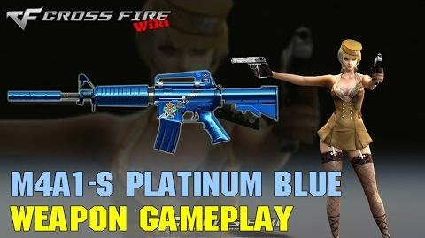 CrossFire - M4A1-S Platinum Blue - Weapon Gameplay