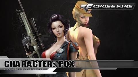 CrossFire Character FOX ☆