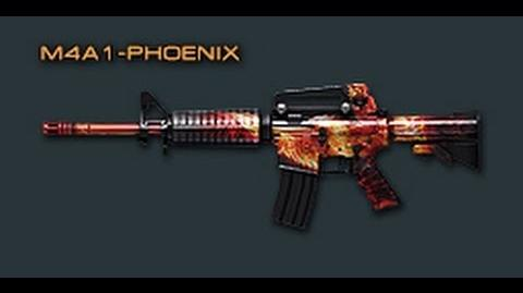 Cross Fire China M4A1-Phoenix Review !