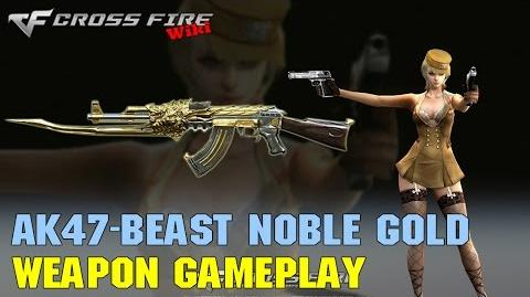 CrossFire - AK-47 Beast Noble Gold - Weapon Gameplay-0
