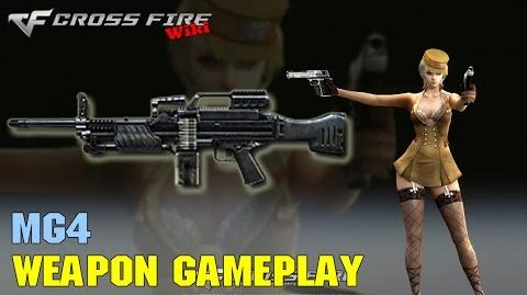 CrossFire - MG4 - Weapon Gameplay