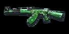 RIFLE AK-47-St Patricks Day
