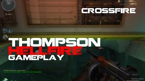 CrossFire Thompson Hellfire Gameplay ll 10DarkGamer