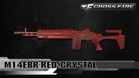 CrossFire Vietnam M14EBR-Red Crystal ☆