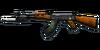 RIFLE AK-47-Knife