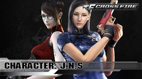 CrossFire Character JNS ☆