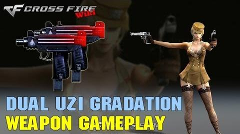 CrossFire - Dual Uzi Gradation - Weapon Gameplay