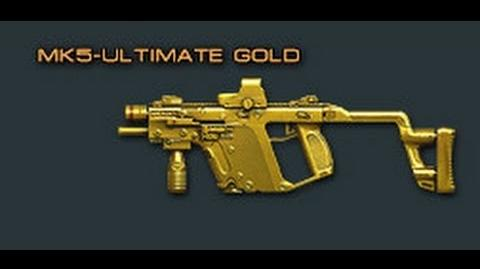 Cross Fire China Kriss Super V-Ultimate Gold (MK5-Ultimate Gold) Review!