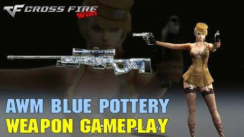 CrossFire - AWM Blue Pottery - Weapon Gameplay