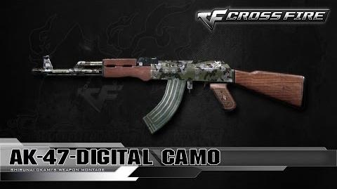 CrossFire China AK-47-Digital Camo ☆
