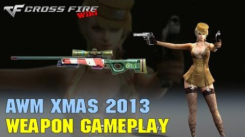 CrossFire - AWM Xmas 2013 - Weapon Gameplay