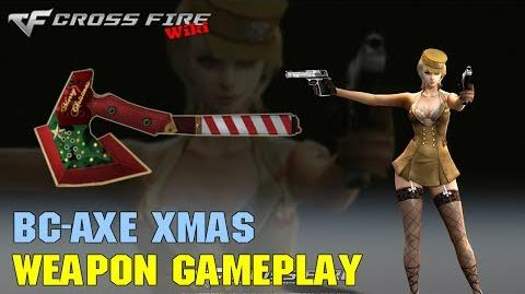 CrossFire - BC-Axe Xmas - Weapon Gameplay