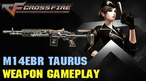 CrossFire - M14EBR Taurus - Weapon Gameplay