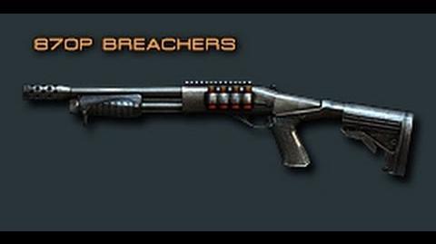 Cross Fire China Remington870-S 870P Breachers Review!