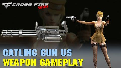 CrossFire - Gatling Gun Ultimate Silver - Weapon Gameplay