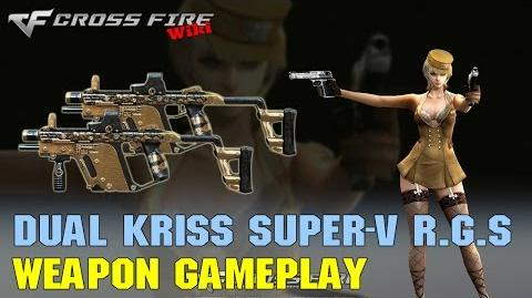 CrossFire - Dual Kriss Super-V Rusty Gold Skull - Weapon Gameplay