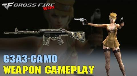 CrossFire - G3A3 Camo - Weapon Gameplay
