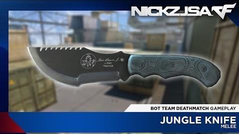 Jungle Knife CROSSFIRE Japan 2.0