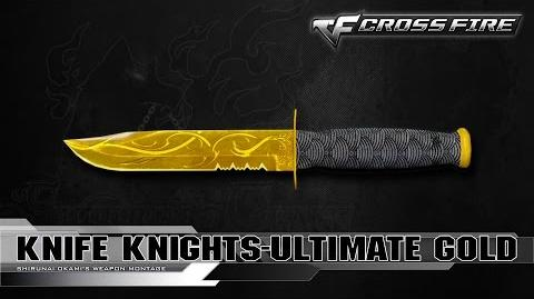 CrossFire China Knife-Ultimate Gold ☆