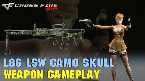 CrossFire - L86 LSW Camo Skull - Weapon Gameplay