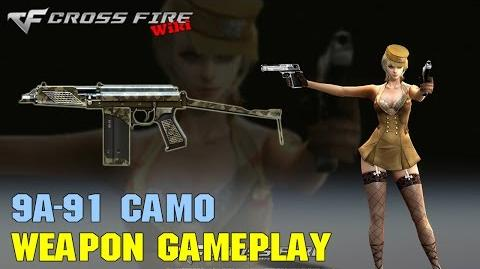 CrossFire - 9A-91 Camo - Weapon Gameplay