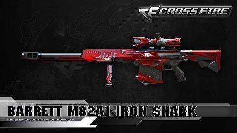 CrossFire Vietnam 2.0 Barrett-Iron Shark ☆