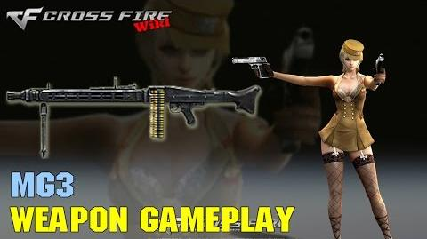 CrossFire - MG3 - Weapon Gameplay
