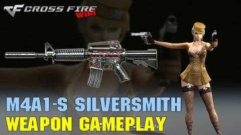 CrossFire - M4A1 Silversmith - Weapon Gameplay
