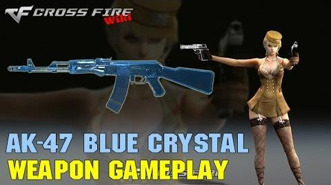 CrossFire - AK-47 Blue Crystal - Weapon Gameplay