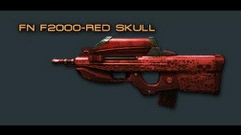 Cross Fire China FN F2000-Red Skull Review !-0
