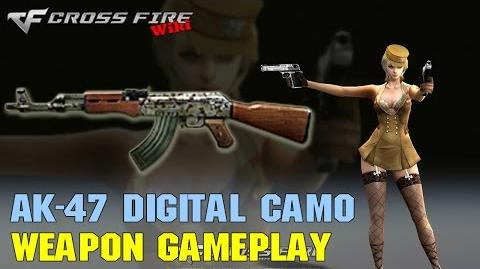 CrossFire - AK-47 Digital Camo - Weapon Gameplay