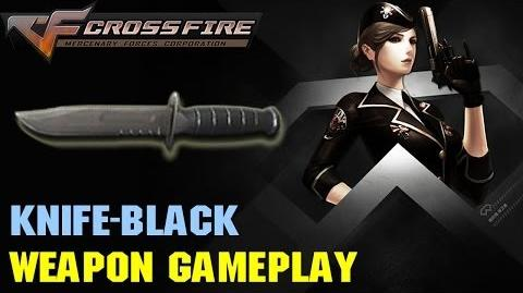 CrossFire VN - Knife-Black