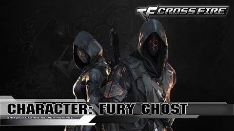 CrossFire Character Fury Ghost ☆
