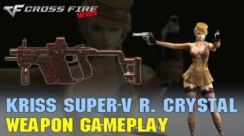 CrossFire - Kriss Super-V Red Crystal - Weapon Gameplay