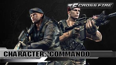 CrossFire Character COMMANDO ☆